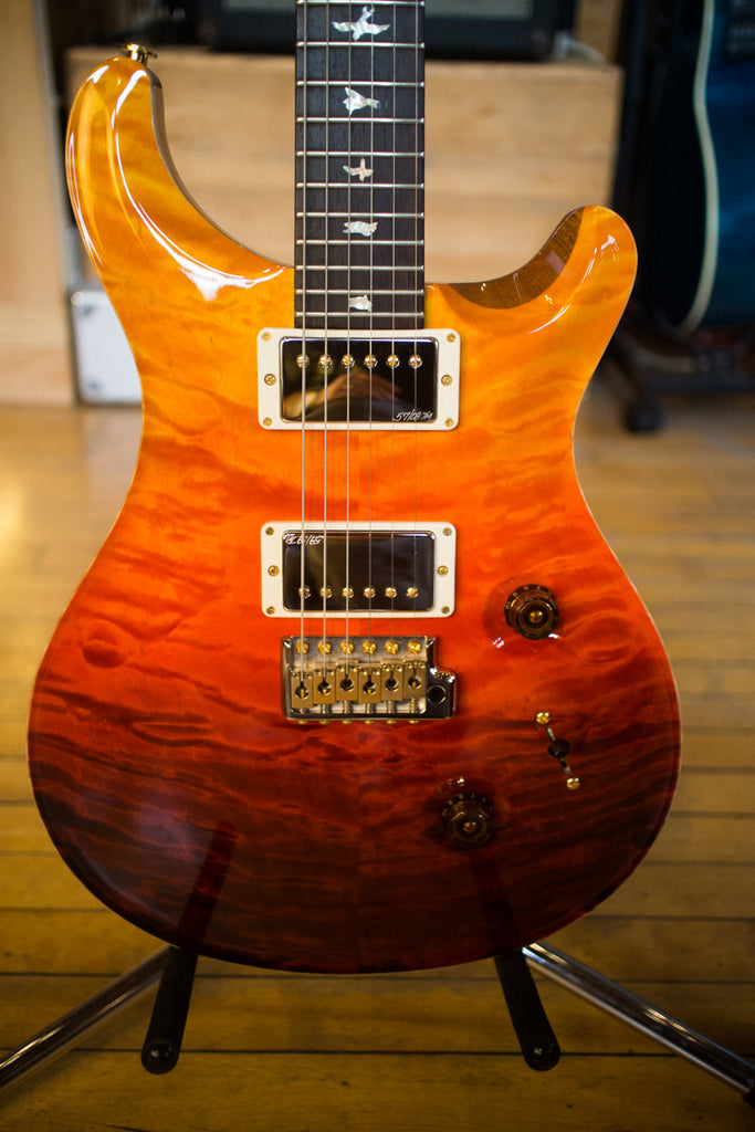 paul reed smith prs custom 24 wood library quilt 2013 fade brazilian r ish guitars. Black Bedroom Furniture Sets. Home Design Ideas