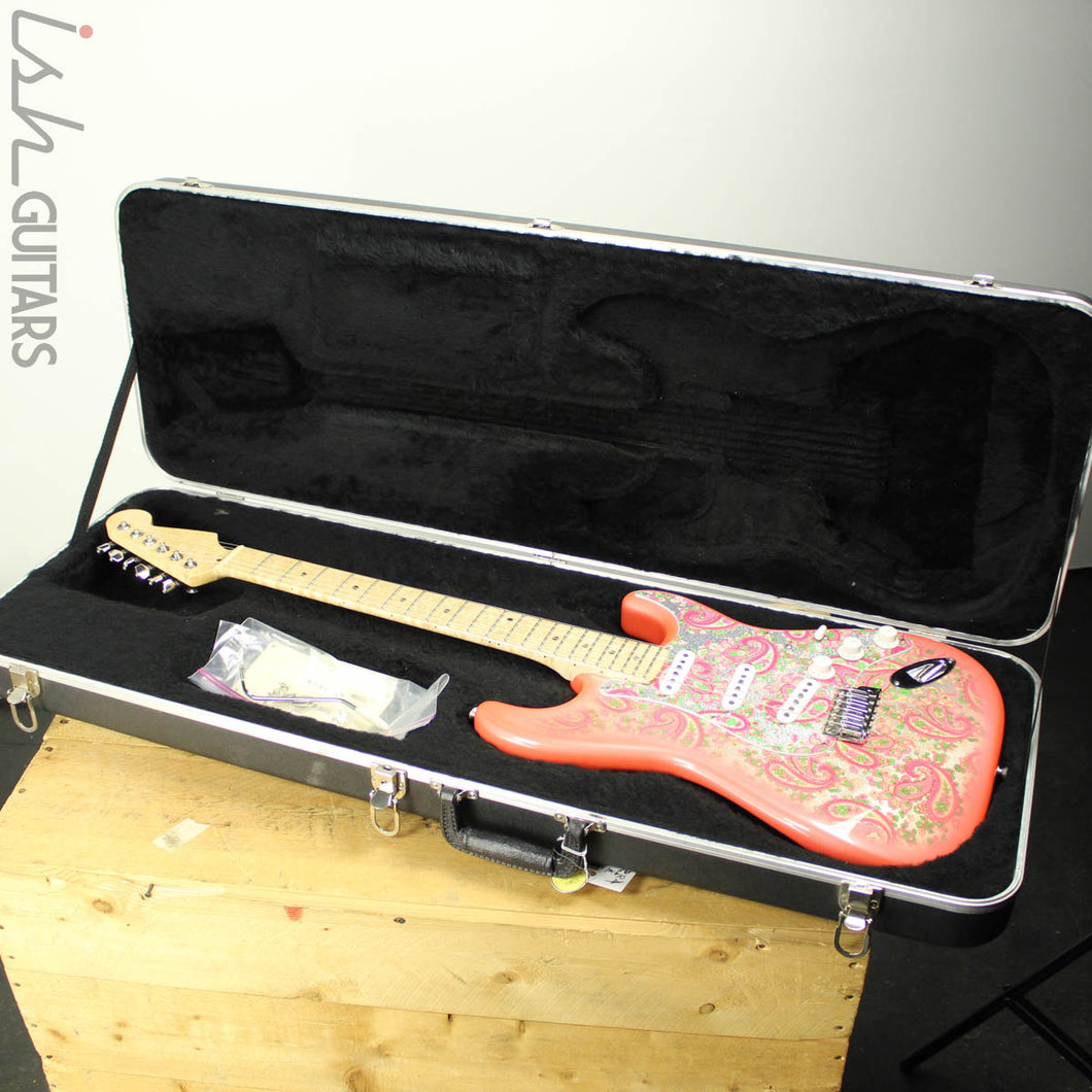 1990s/2000s CIJ Fender Pink Paisley Stratocaster Warmoth