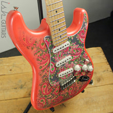 1990s/2000s CIJ Fender Pink Paisley Stratocaster Warmoth Neck Strat Electric Guitar