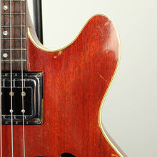 1966 Guild Starfire Hollowbody Bass Cherry with OHSC