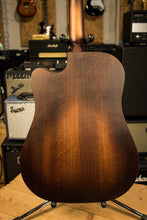D'Angelico Premier Bowery Acoustic Aged Finish Acoustic Natural Mahogany