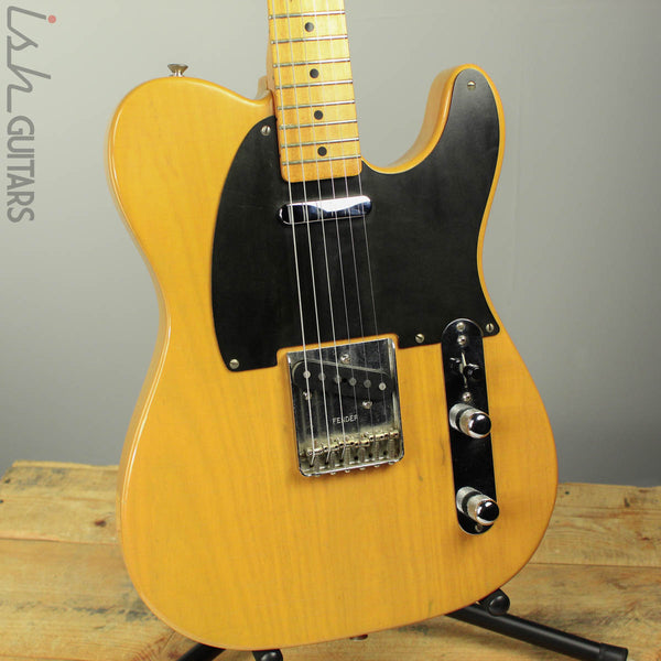 1982 Fender '52 Reissue Telecaster Butterscotch Blonde