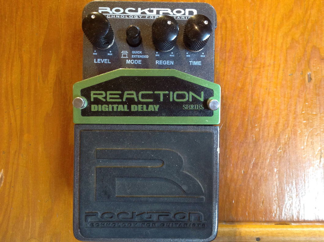 Rocktron Reaction Digital Delay Pedal