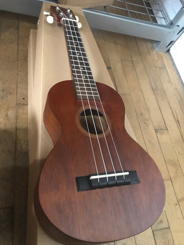 Mahalo Hano Series Concert Ukulele Trans Brown Finish
