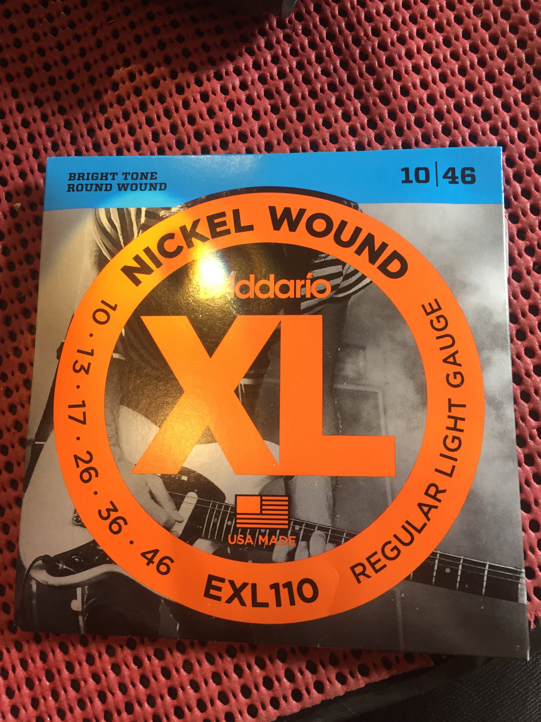 D'Addario EXL110 10/46 Regular Light Gauge