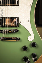 D'Angelico Premier Series Ludlow Electric Guitar with Stopbar Tailpiece Army Green