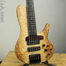 "Mattisson Series I ""Swiss"" 5-String 'Headed Headless' Masur Birch Bass"