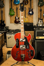 1963 Goya Rangemaster Semi Hollow Electric Guitar Cherry Finish