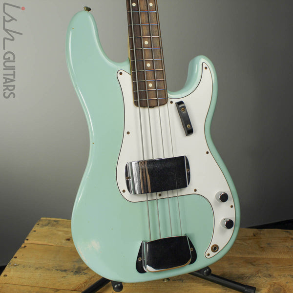 2013 Fender Custom Shop 1959 Precision P Bass Relic Sonic Blue