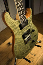 Paul Reed Smith PRS Mark Holcomb SE Quilted Maple Trampas Green Ish Guitars Exclusive #4