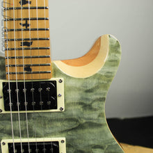 2019 Paul Reed Smith SE Custom 24 Roasted Maple Limited Trampas Green