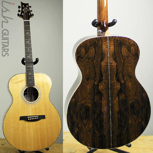 2019 PRS SE T60E Tonare Acoustic Electric Ziricote Back and Sides