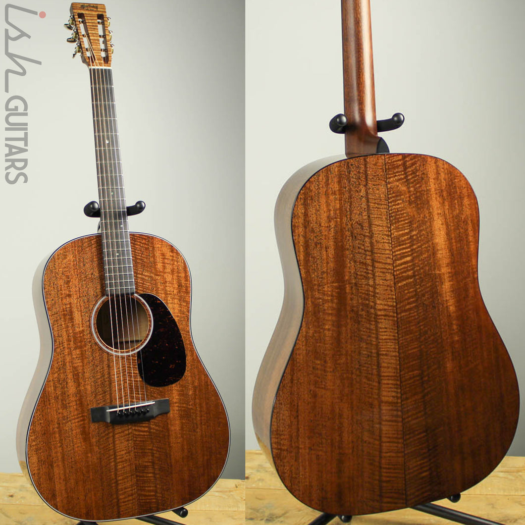 Martin Custom Shop D-1 DSS Slope Shoulder 12 Fret Dreadnought Flamed Mahogany