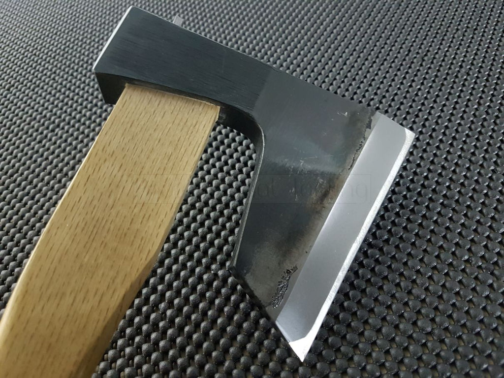 Mizuno Seisakujo Japanese Hatchet _Woodworking Tools, Whetstones & Knives from Japan