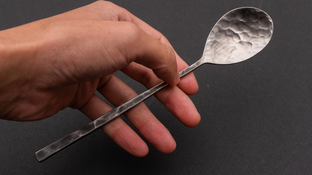 Hand Forged Tasting Spoon - Japanese Kitchen Tools
