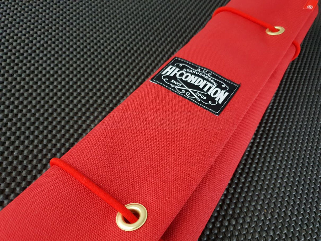 Japanese Canvas Knife Roll Case Crafted in Tokyo - Kitchen Knives Japan