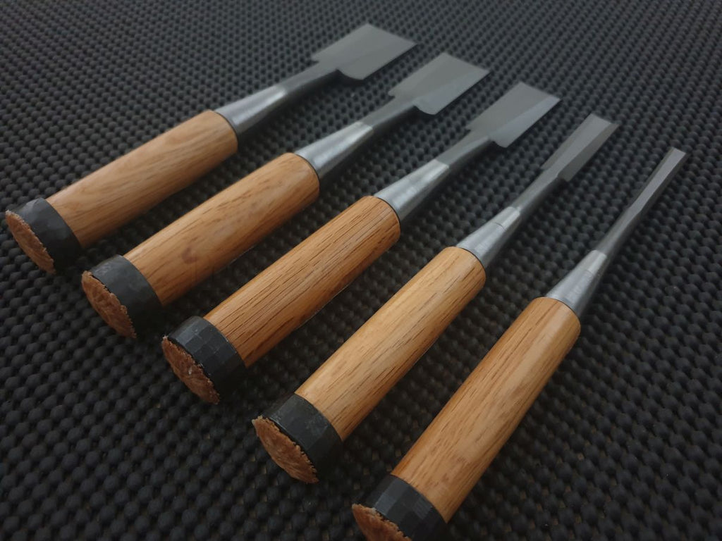 Nomi Japanese Woodworking Chisel Set Australia