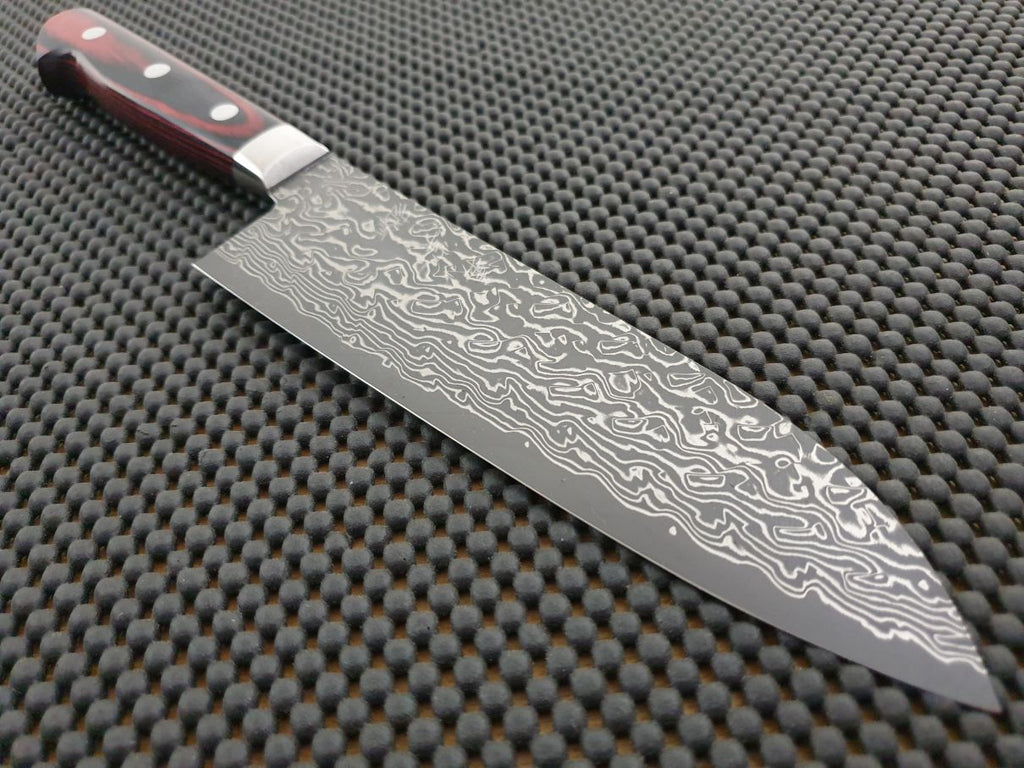 Kato Damascus Japanese Knife