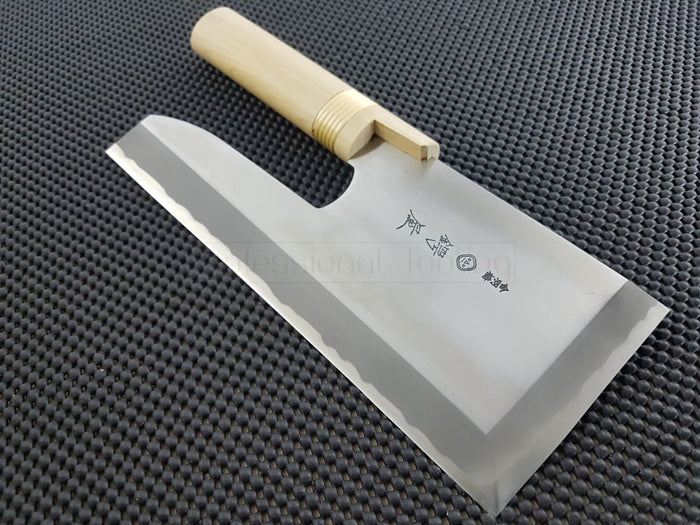 Tsubaya Molybdenum Menkiri Knife _Japanese Kitchen Knives Australia