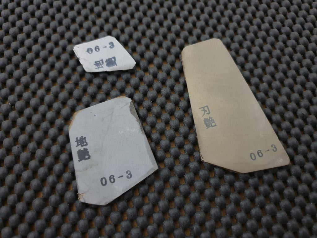 Japanese Natural Whetstone Finger Stone Polishing