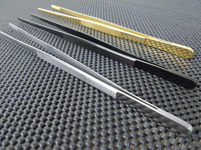 Straight Plating Tweezers at ProTooling Australia _Japanese Kitchen Knives & Whetstones
