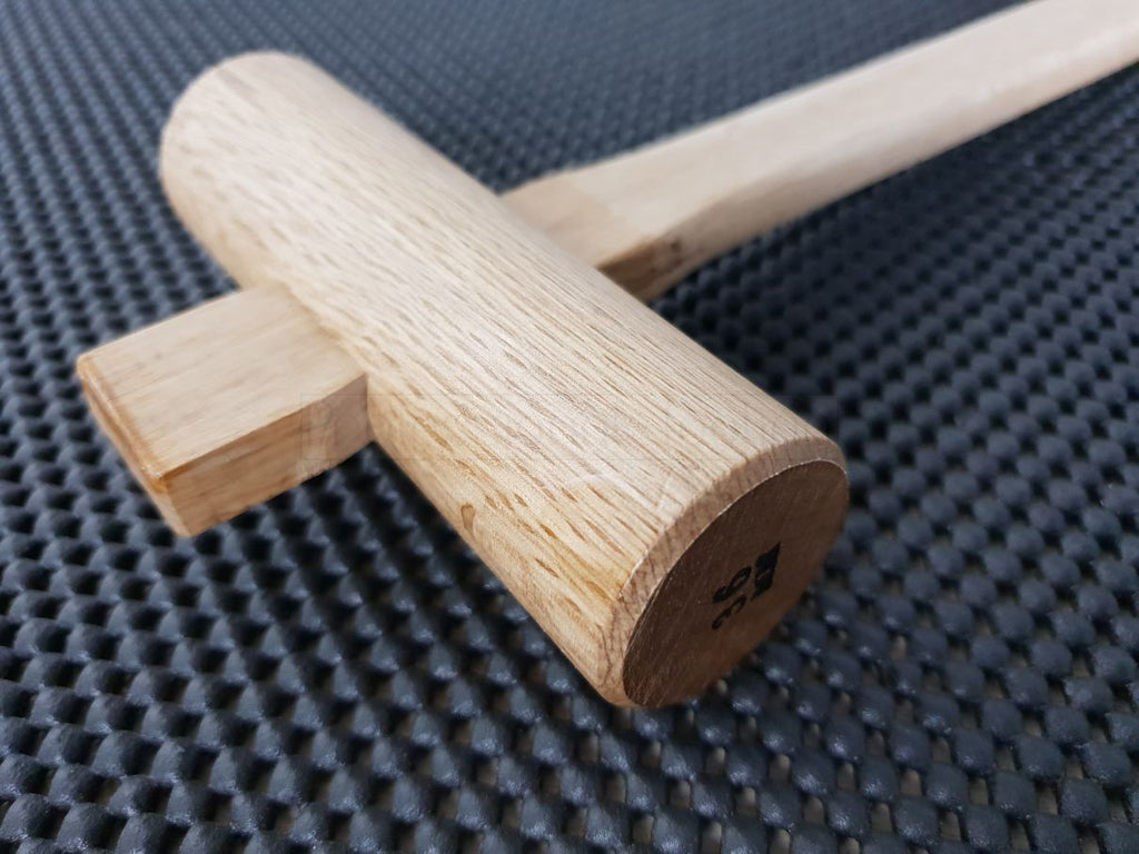 Traditional Japanese Oak Hammer - Gennou / Genno