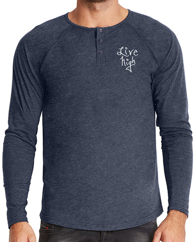 Embroidered Henley
