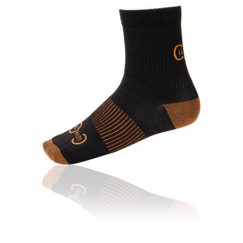 5 - Pack Short Compression Copper Infused Socks