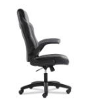 Racing Style Desk/Gaming Chair With C0lored Leather Accents