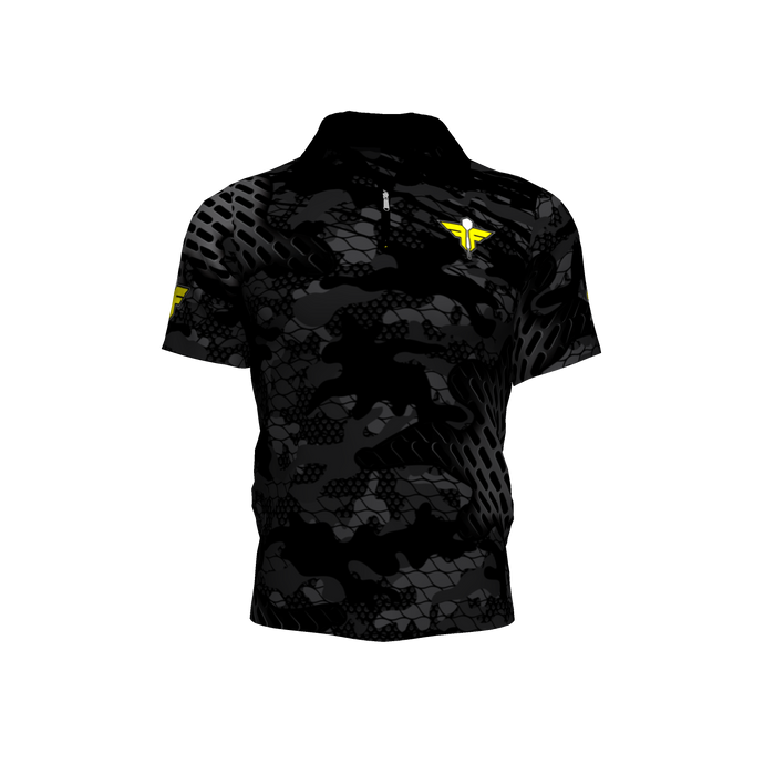 Flight Faction Deep Camo Jersey - Yellow