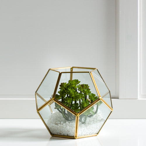 Oro Glass Sphere Terrarium