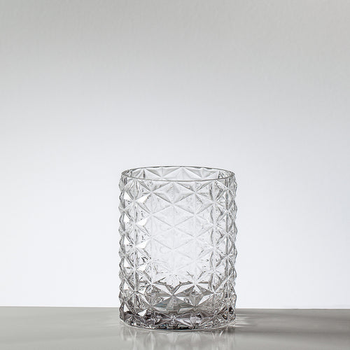 Vintage Clear Pineapple Glass Vase/Hurricane