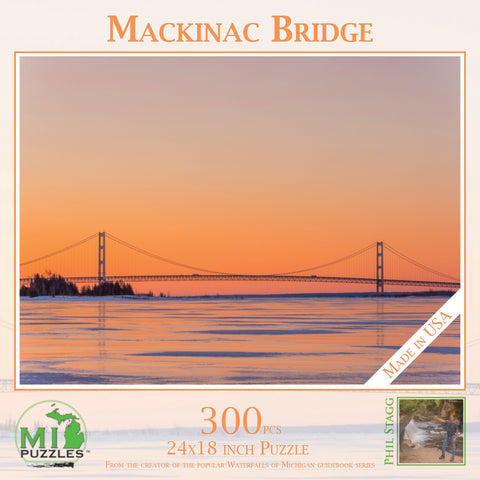 Mackinac Bridge Puzzle 300 pcs