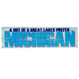 4 out of 5 Great Lakes Prefer Michigan Magnet