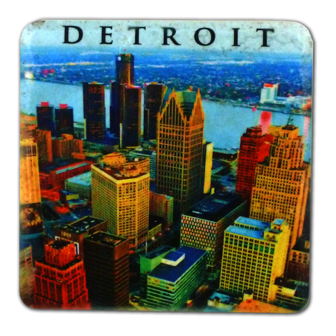 Detroit Skyline Coaster