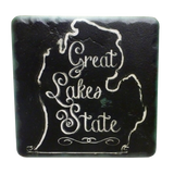 Chalk Great Lakes State Coaster