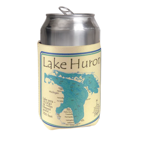 Lake Huron Coozie