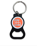 Detroit Shifter Keychain Bottle Opener