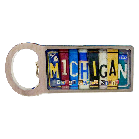 Michigan Magnetic Bottle Opener