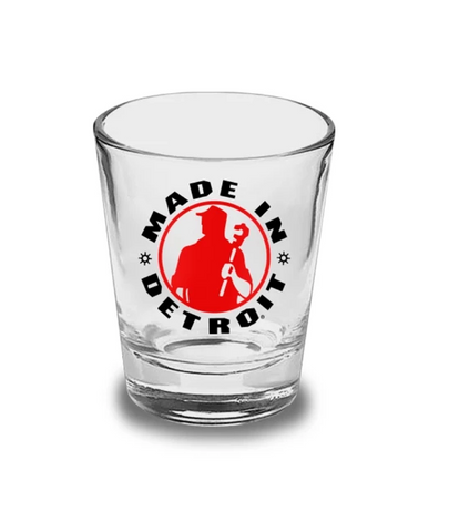 Made in Detroit Shot Glass