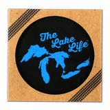 The Lake Life Rubber Coaster Set