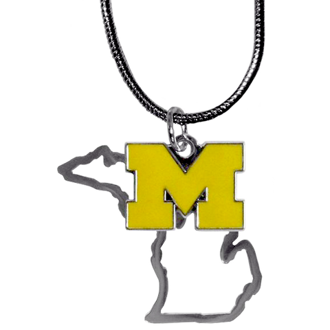 MI Necklace w/ U of M Charm