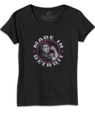 Made In Detroit Rosie the Riveter Tee - Women's