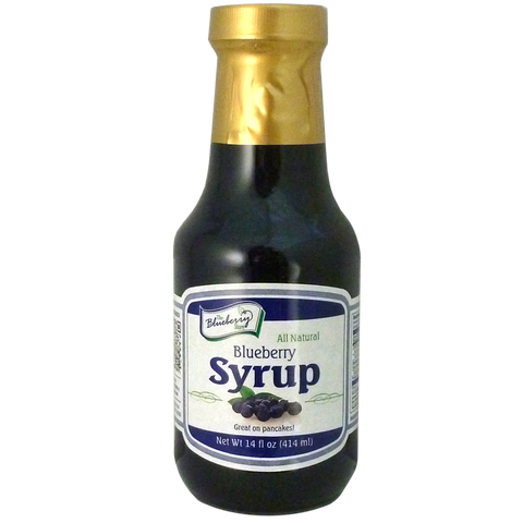 Blueberry Syrup 14oz