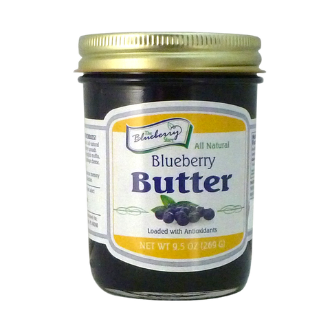 The Blueberry Store Blueberry Butter