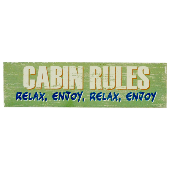 Cabin Rules Magnet