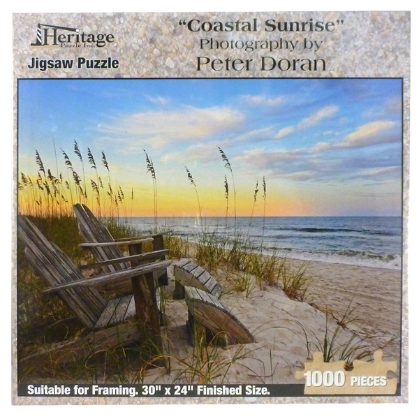 Coastal Sunrise Puzzle