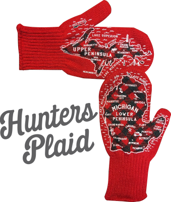 Adult Michigan Mittens