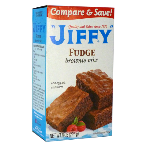 Jiffy Fudge Brownie Mix