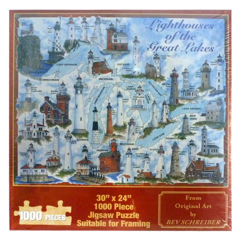 Lighthouse of the Great Lakes Puzzle